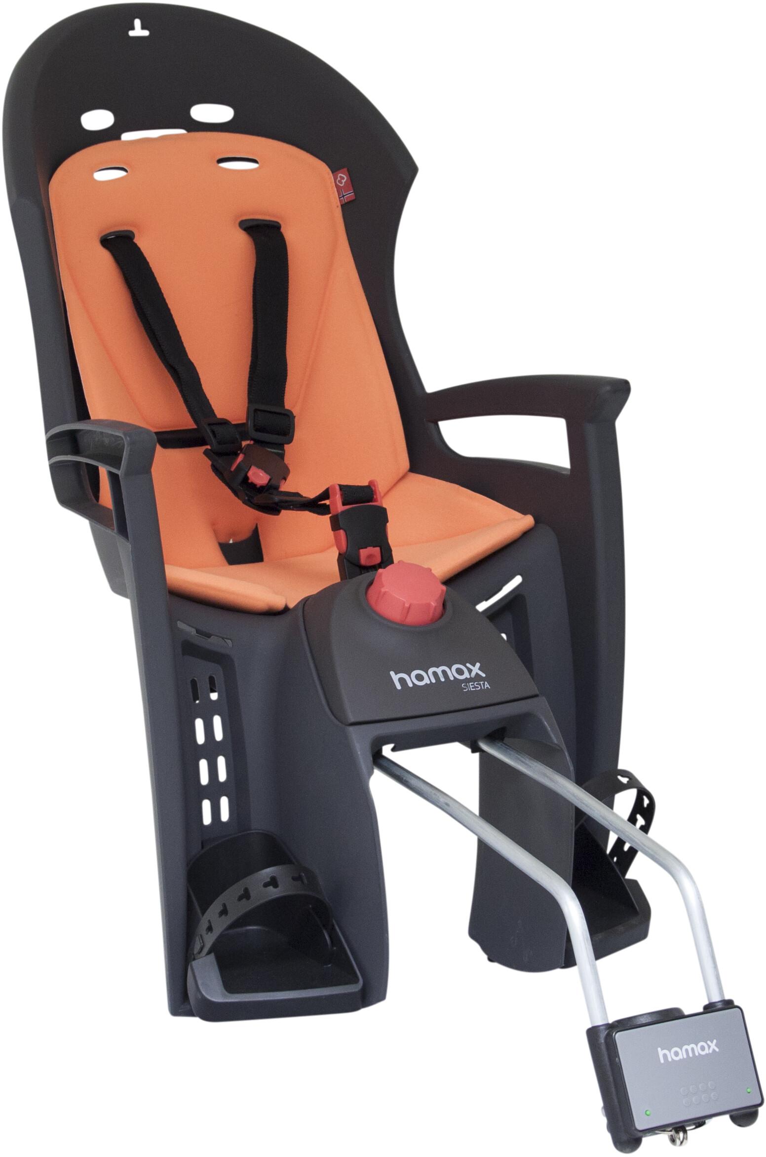 utterly stylish good looking shop Hamax Siesta Child Seat black/orange